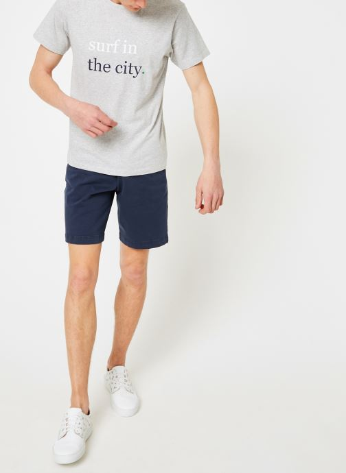 Vêtements Mr SARENZA Mr Sarenza x Cuisse de Grenouille Tee-shirt Surf Gris vue bas / vue portée sac