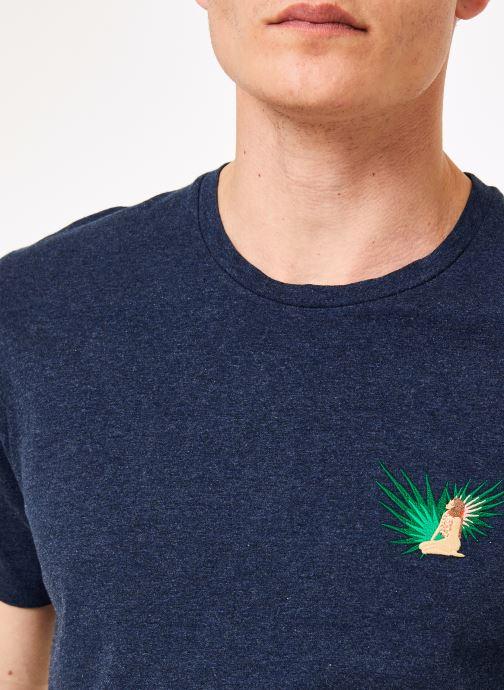 Tøj Mr SARENZA Mr Sarenza x Cuisse de Grenouille Tee-shirt Vahinés Blå se forfra
