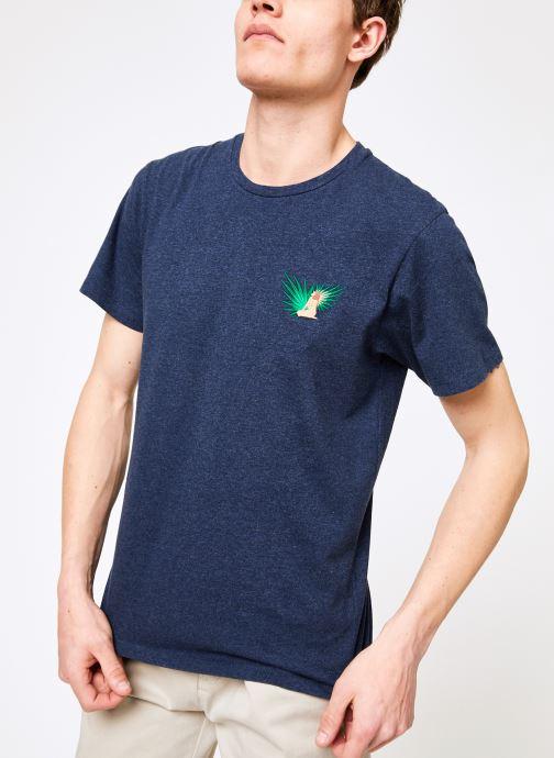 Tøj Mr SARENZA Mr Sarenza x Cuisse de Grenouille Tee-shirt Vahinés Blå detaljeret billede af skoene