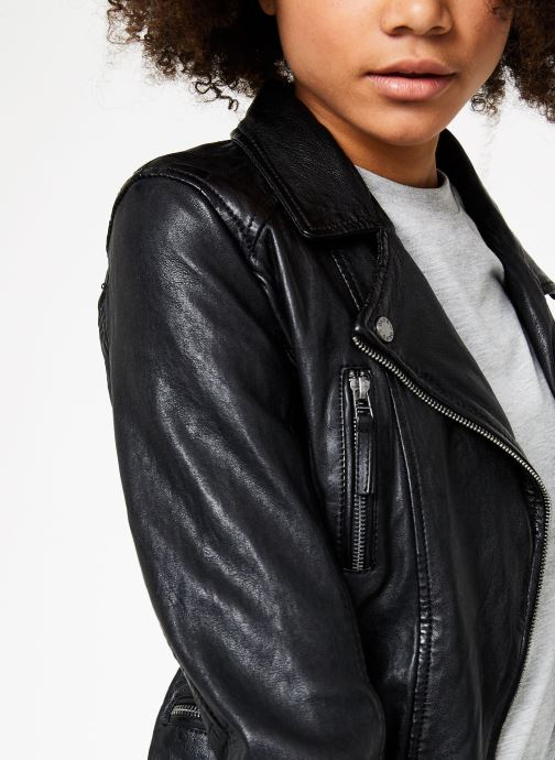 Vêtements Oakwood CAMERA Noir vue face