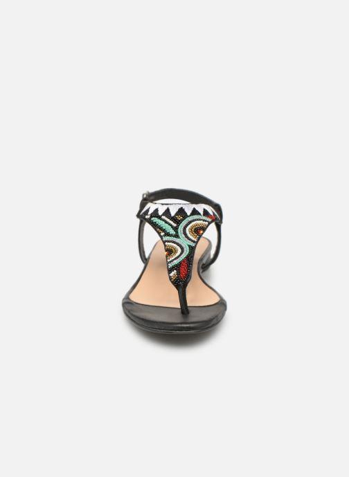 Sandales et nu-pieds Gioseppo 44205 Noir vue portées chaussures