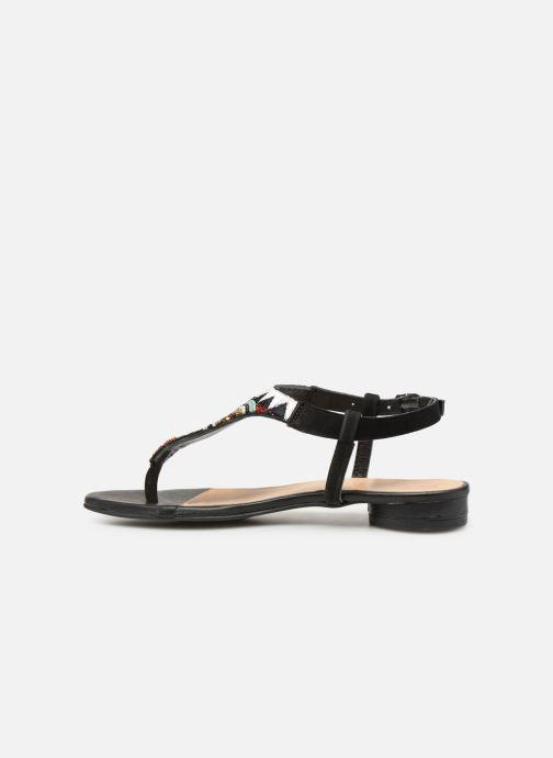 Sandales et nu-pieds Gioseppo 44205 Noir vue face