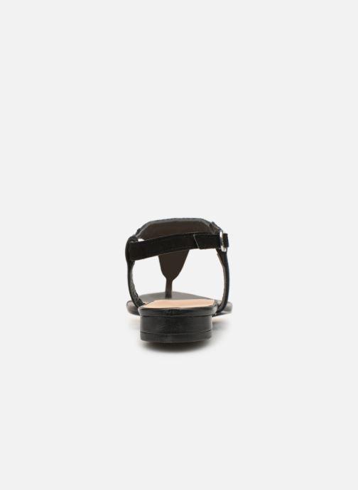 Sandales et nu-pieds Gioseppo 44205 Noir vue droite