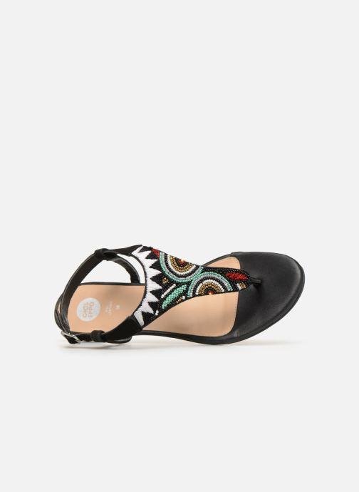 Sandales et nu-pieds Gioseppo 44205 Noir vue gauche
