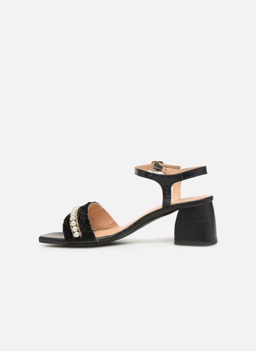 Sandales et nu-pieds Gioseppo 45342 Noir vue face