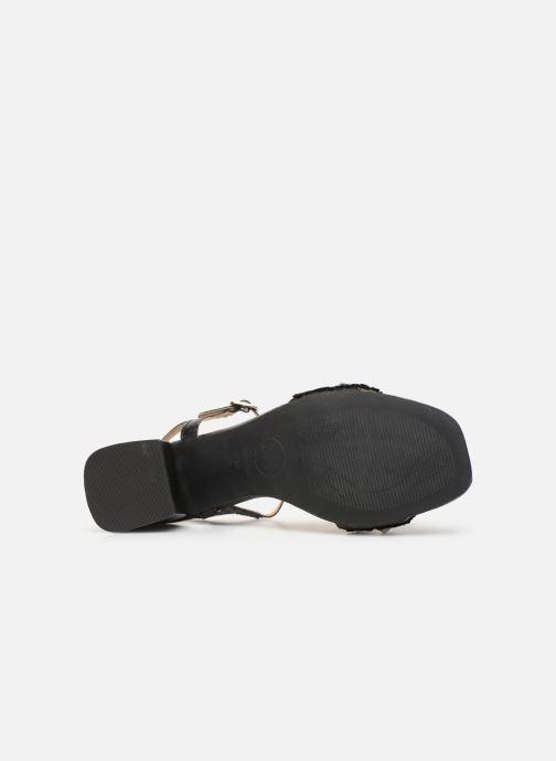Sandales et nu-pieds Gioseppo 45342 Noir vue haut