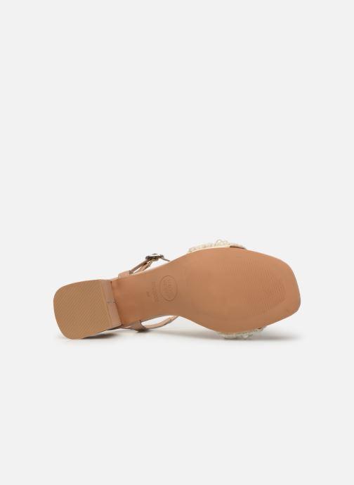 Sandali e scarpe aperte Gioseppo 45342 Beige immagine dall'alto