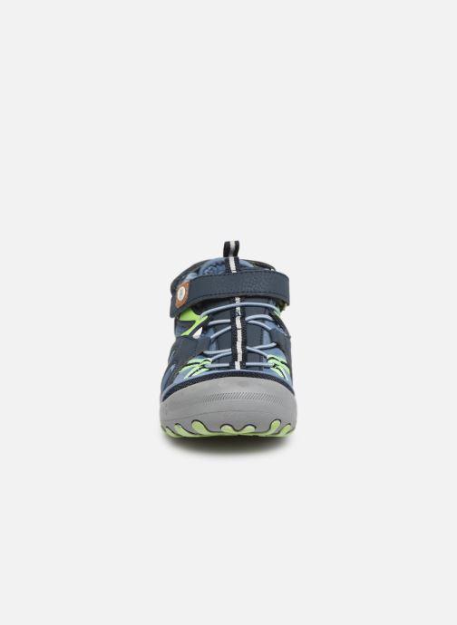 Sandales et nu-pieds Gioseppo 43028 Bleu vue portées chaussures