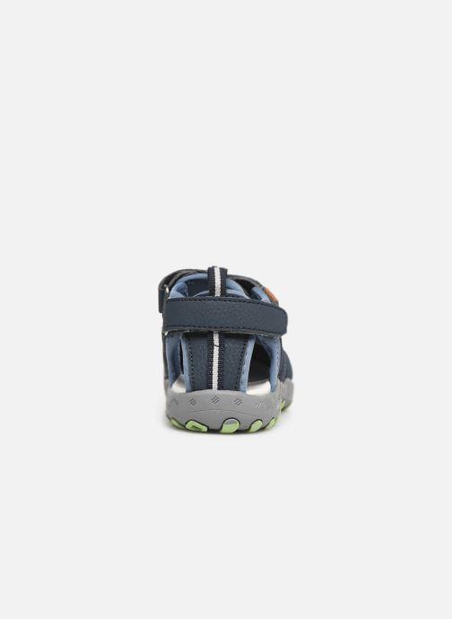 Sandales et nu-pieds Gioseppo 43028 Bleu vue droite