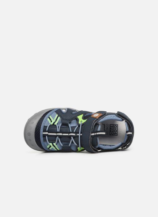 Sandales et nu-pieds Gioseppo 43028 Bleu vue gauche