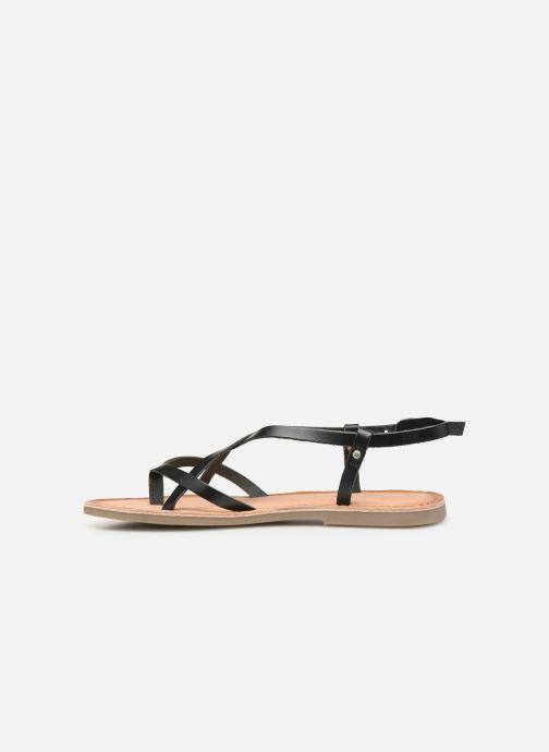 Sandalen Gioseppo 43425 schwarz ansicht von vorne