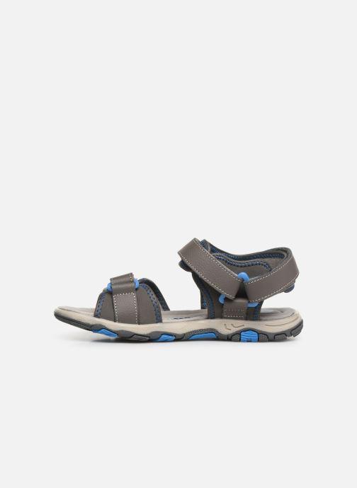 Sandalen Gioseppo 43561-0001 grau ansicht von vorne