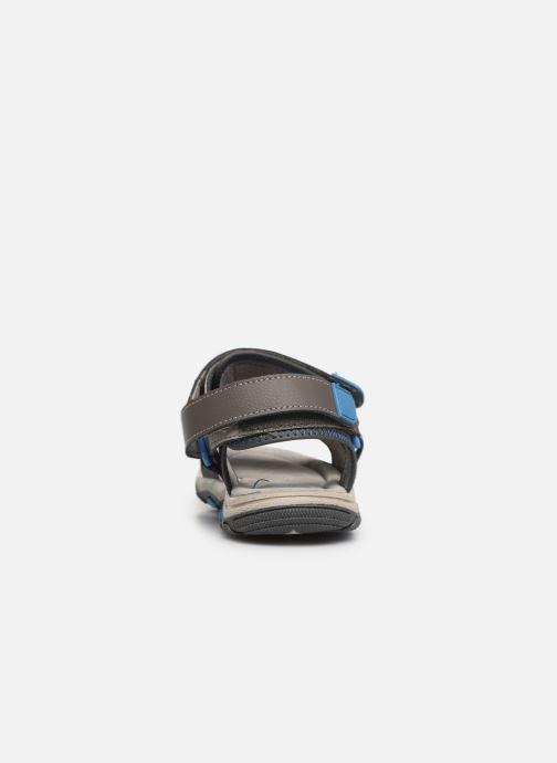Sandalen Gioseppo 43561-0001 grau ansicht von rechts