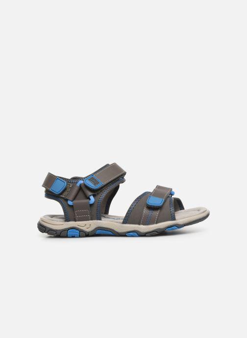 Sandalen Gioseppo 43561-0001 grau ansicht von hinten