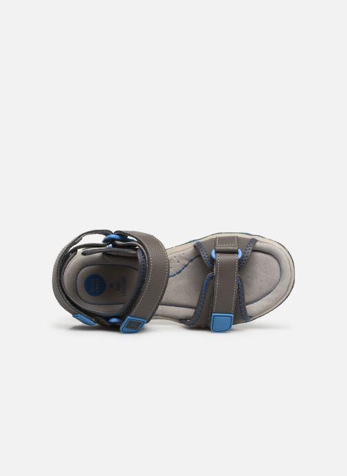 Sandalen Gioseppo 43561-0001 grau ansicht von links