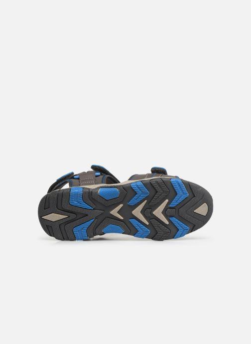 Sandales et nu-pieds Gioseppo 43561-0001 Gris vue haut