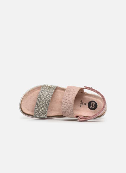 Sandales et nu-pieds Gioseppo 43607 Rose vue gauche