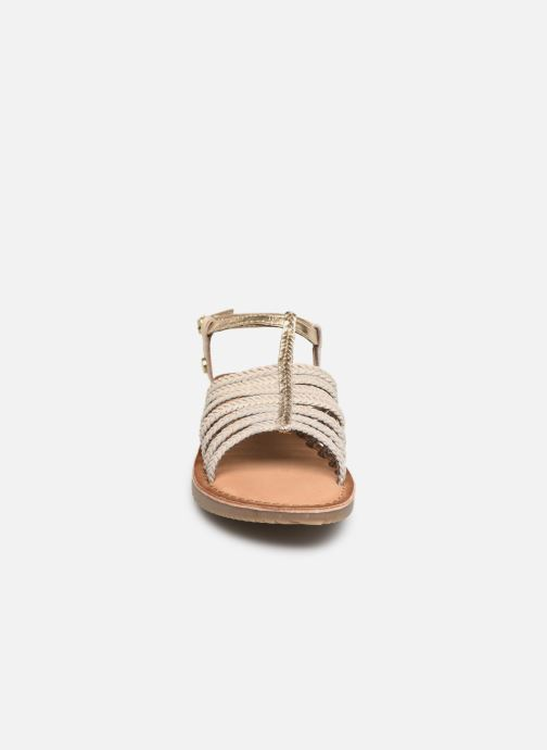 Sandales et nu-pieds Gioseppo 43838 Beige vue portées chaussures