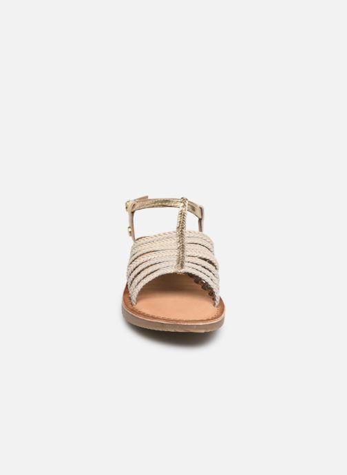Sandalen Gioseppo 43838 beige schuhe getragen