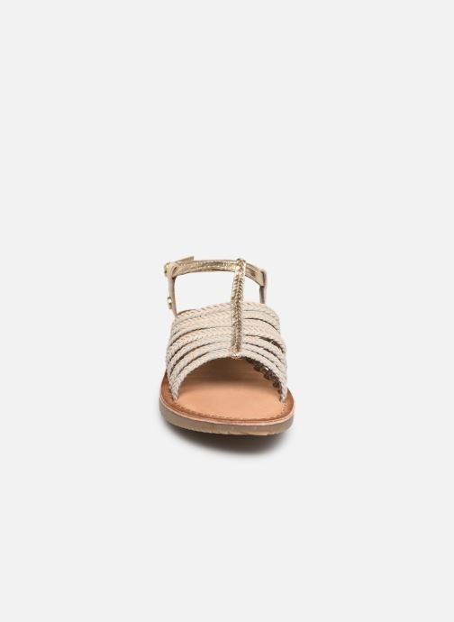 Sandali e scarpe aperte Gioseppo 43838 Beige modello indossato