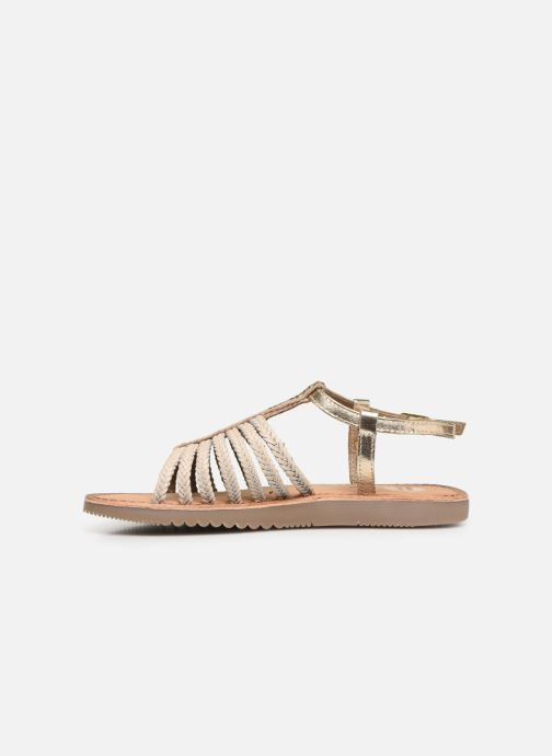 Sandals Gioseppo 43838 Beige front view