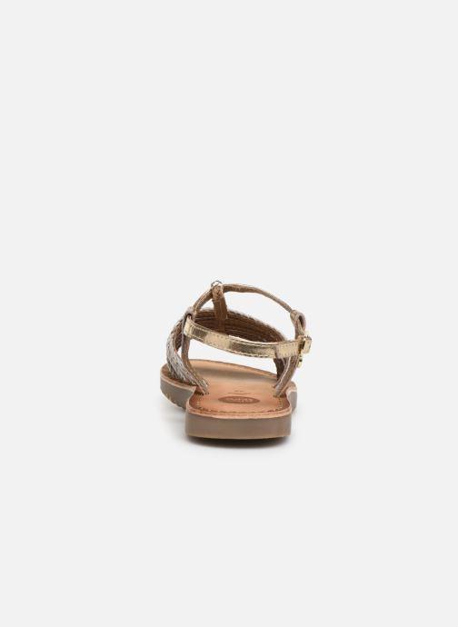Sandales et nu-pieds Gioseppo 43838 Beige vue droite