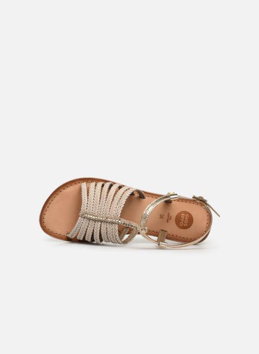 Sandals Gioseppo 43838 Beige view from the left
