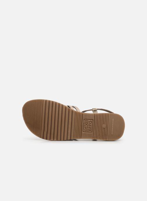 Sandales et nu-pieds Gioseppo 43838 Beige vue haut