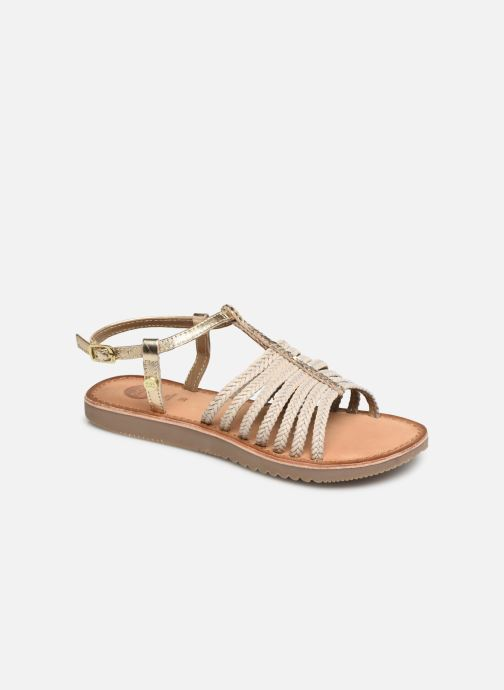 Sandals Gioseppo 43838 Beige detailed view/ Pair view