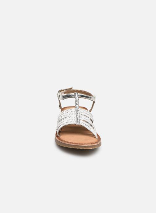 Sandali e scarpe aperte Gioseppo 43838 Bianco modello indossato