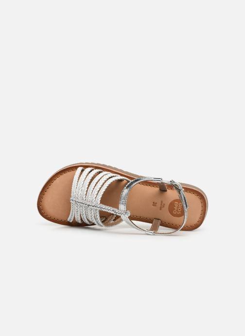 Sandales et nu-pieds Gioseppo 43838 Blanc vue gauche