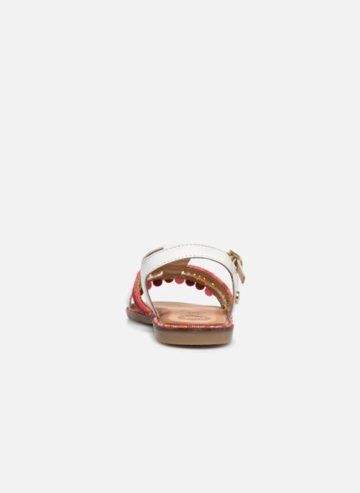 Sandales et nu-pieds Gioseppo 44658 Blanc vue droite