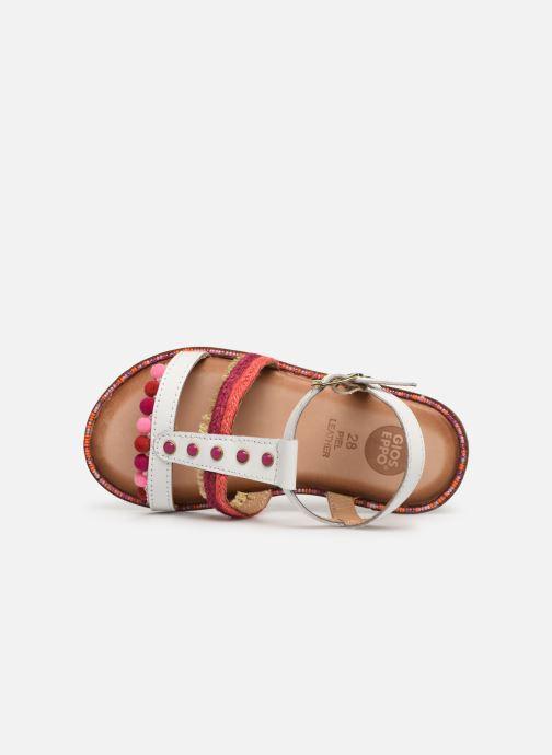 Sandales et nu-pieds Gioseppo 44658 Blanc vue gauche
