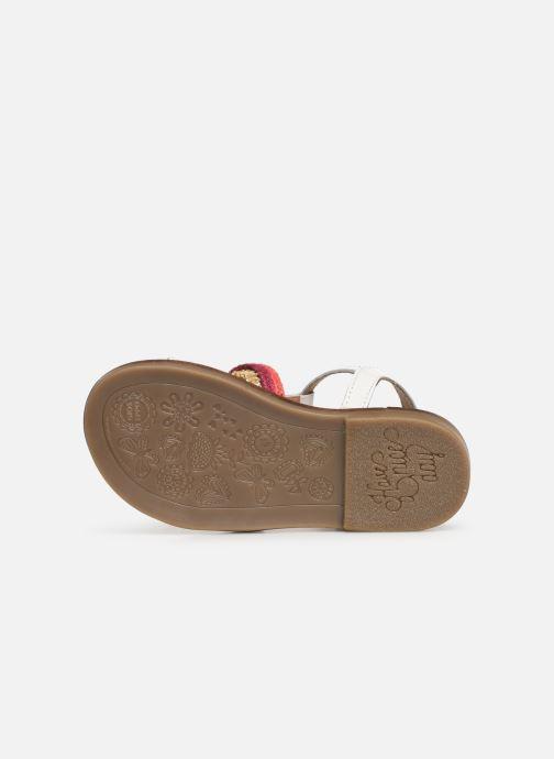 Sandales et nu-pieds Gioseppo 44658 Blanc vue haut