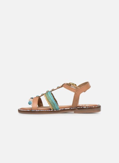 Sandali e scarpe aperte Gioseppo 44658 Marrone immagine frontale