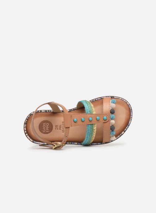 Sandali e scarpe aperte Gioseppo 44658 Marrone immagine sinistra