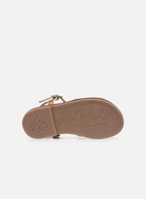Sandali e scarpe aperte Gioseppo 44658 Marrone immagine dall'alto