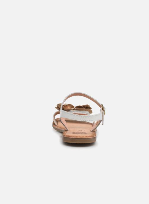 Sandales et nu-pieds Gioseppo 45360 Blanc vue droite