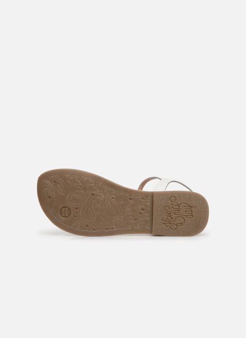Sandali e scarpe aperte Gioseppo 45360 Bianco immagine dall'alto