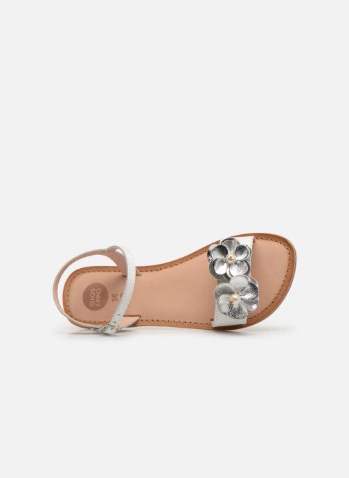 Sandales et nu-pieds Gioseppo 45360 Blanc vue gauche