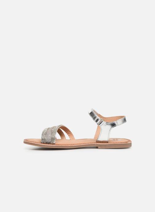 Sandales et nu-pieds Gioseppo 45372 Argent vue face