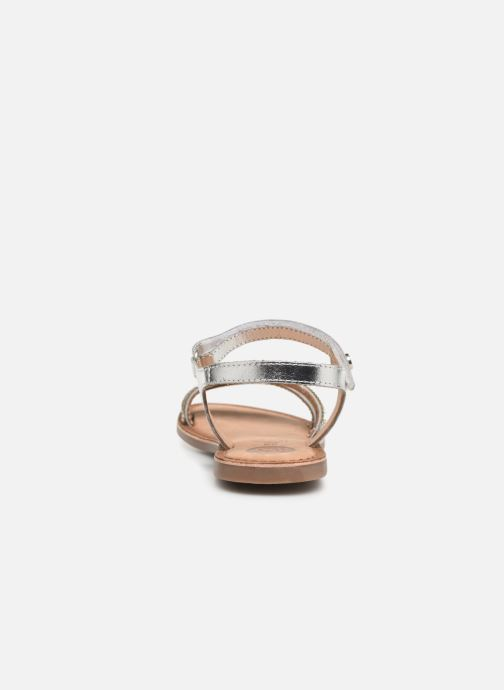 Sandales et nu-pieds Gioseppo 45372 Argent vue droite