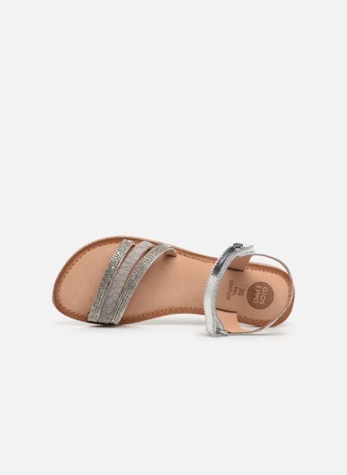 Sandales et nu-pieds Gioseppo 45372 Argent vue gauche