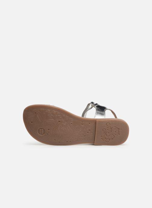 Sandales et nu-pieds Gioseppo 45372 Argent vue haut