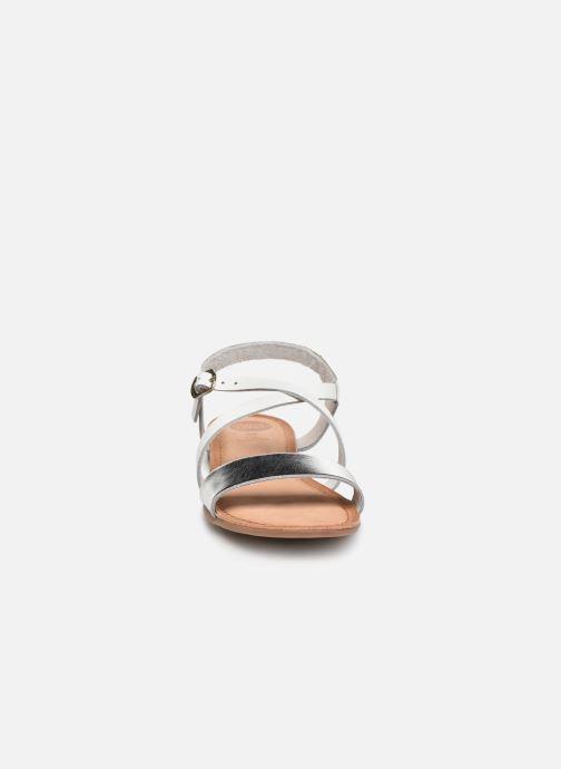 Sandales et nu-pieds Gioseppo Opulente Blanc vue portées chaussures