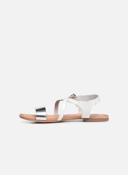 Sandales et nu-pieds Gioseppo Opulente Blanc vue face