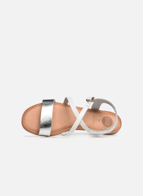Sandales et nu-pieds Gioseppo Opulente Blanc vue gauche