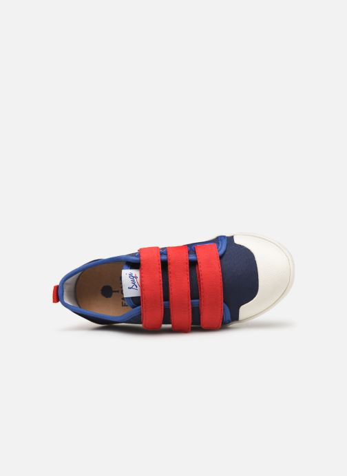 Trainers Faguo Tennis Sugiv Cotton Blue view from the left