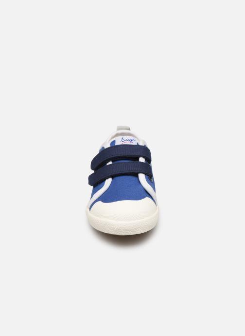 Baskets Faguo Tennis Sugiv Cotton Bleu vue portées chaussures