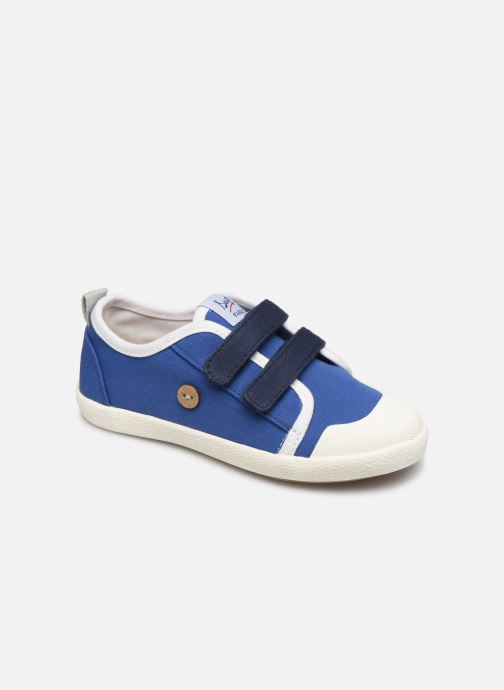 Sneakers Faguo Tennis Sugiv Cotton Blauw detail
